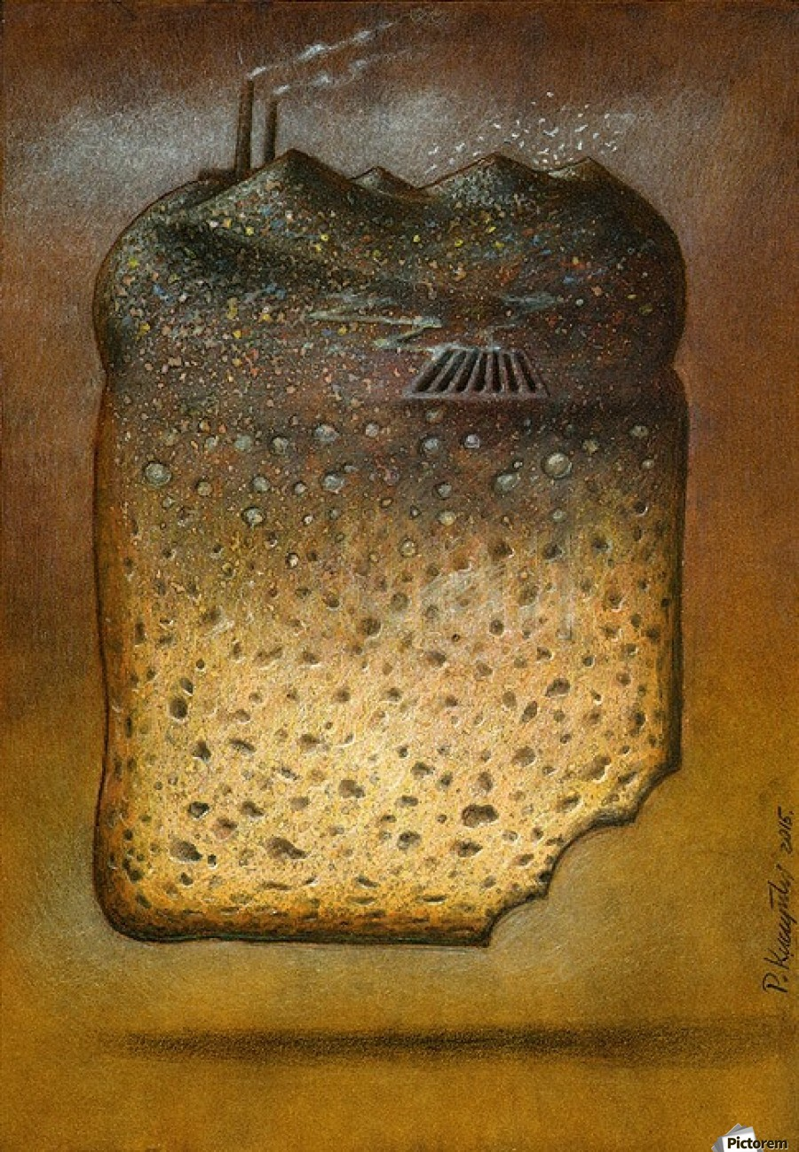 Soil Pollution Pawel Kuczynski Canvas