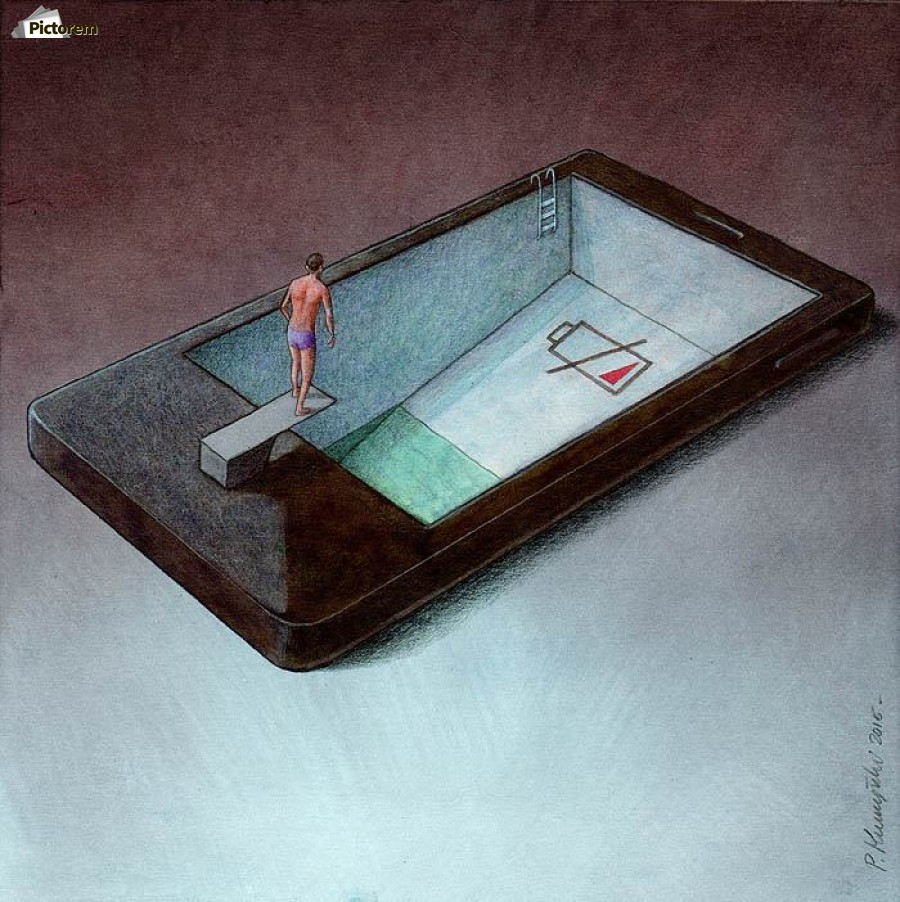 low battery , Pawel Kuczynski ,