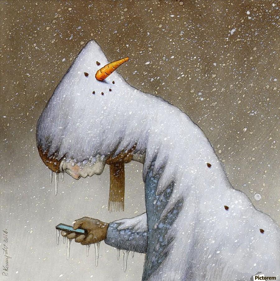 snowman , Pawel Kuczynski ,