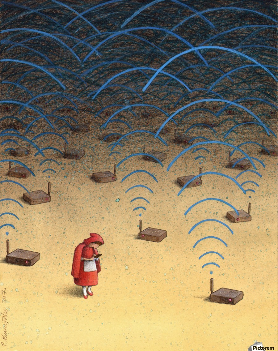 alone - Pawel Kuczynski Canvas