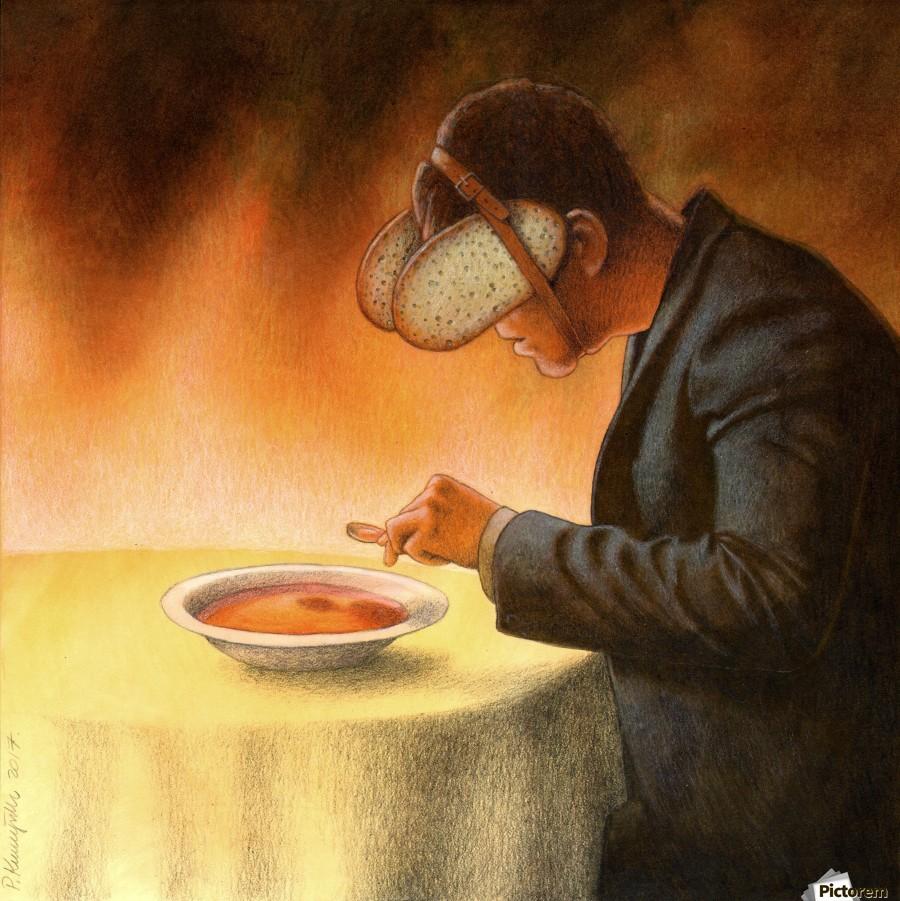 Blind Pawel Kuczynski Canvas