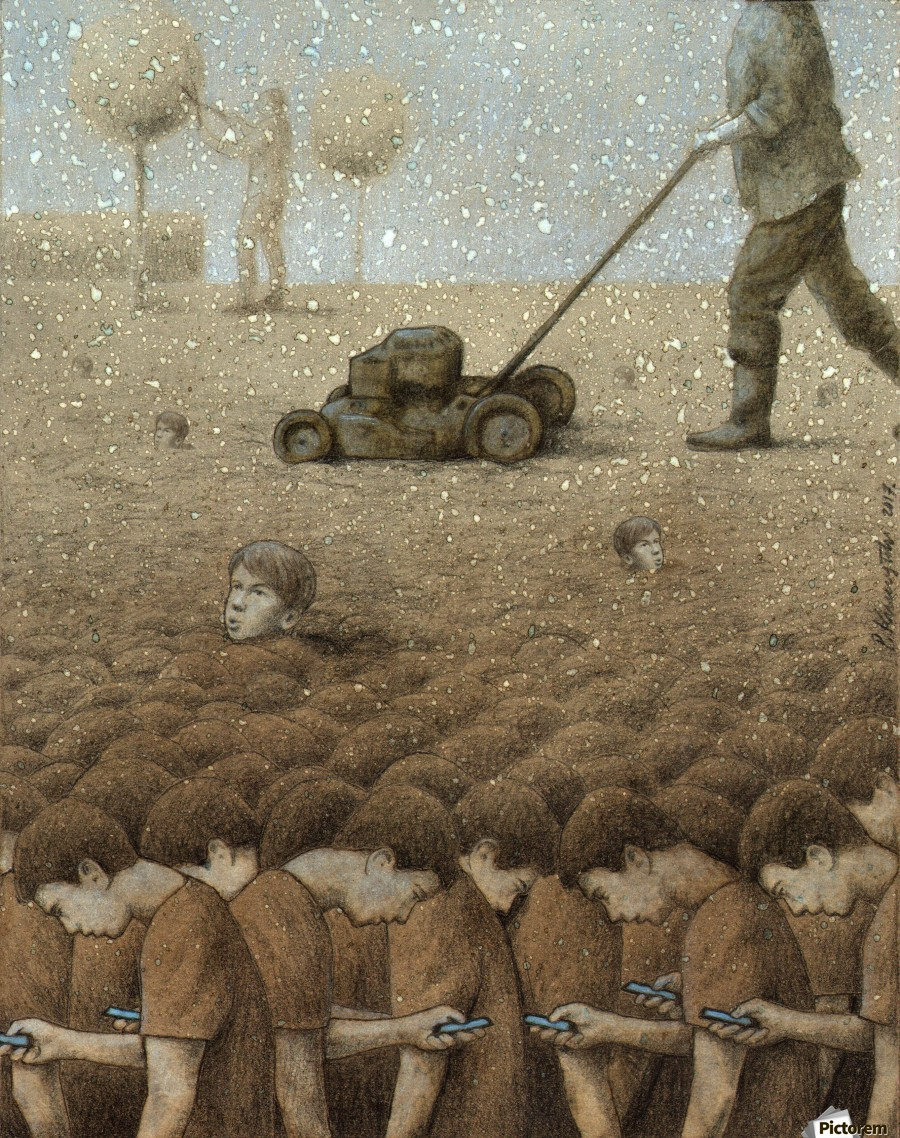Perfect Garden Pawel Kuczynski Canvas