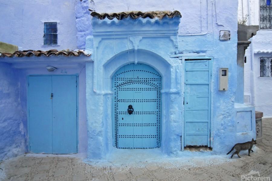 Chefchaouen Medina Morocco  Print