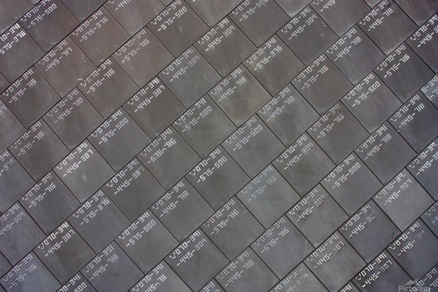 Space Shuttle Tiles  Print