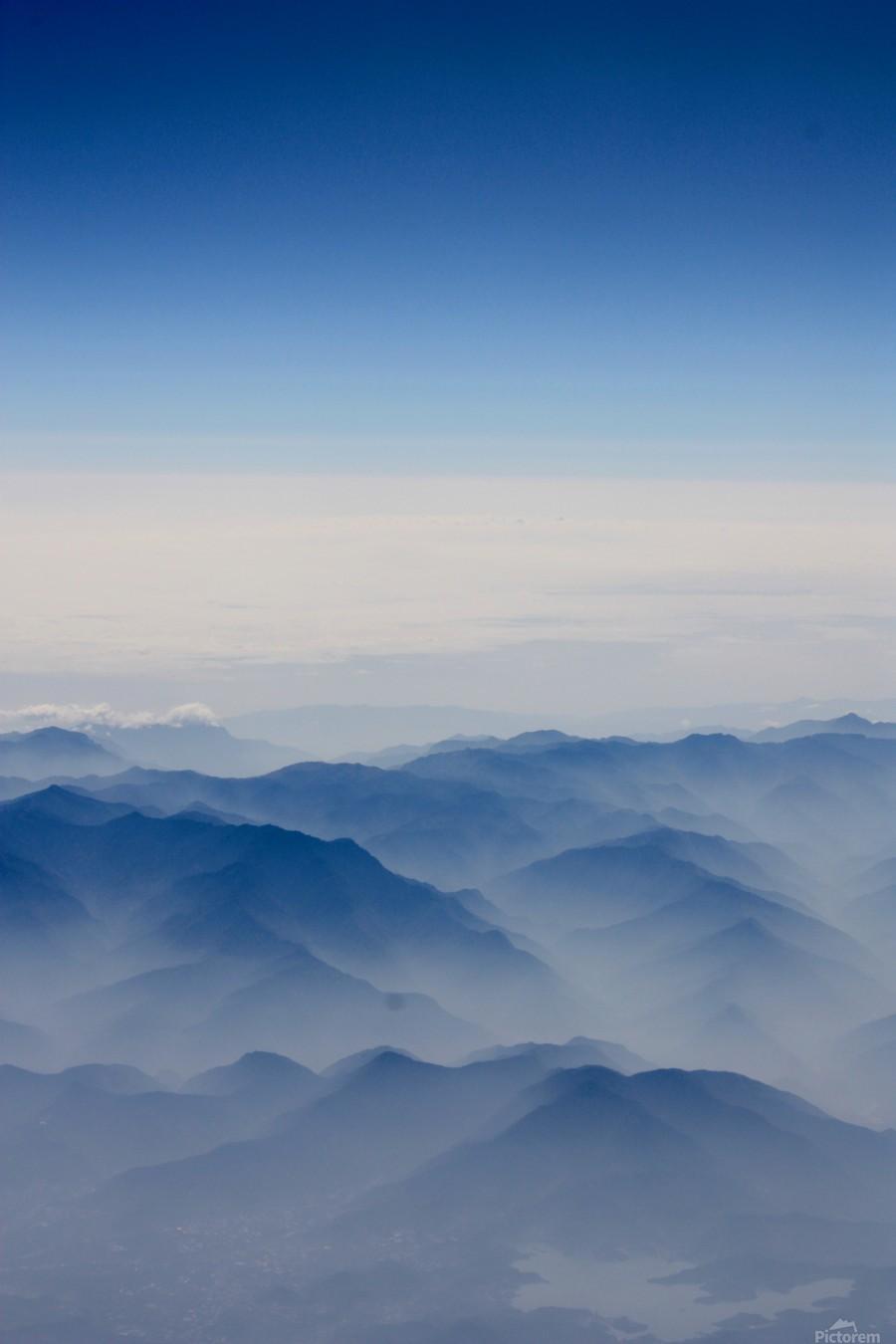 Japanese Mountains  Print