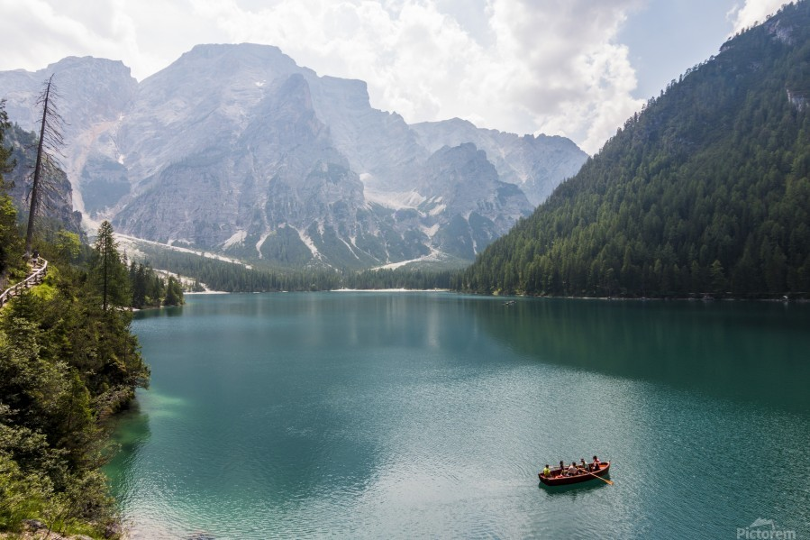 Lake of Braies  Print