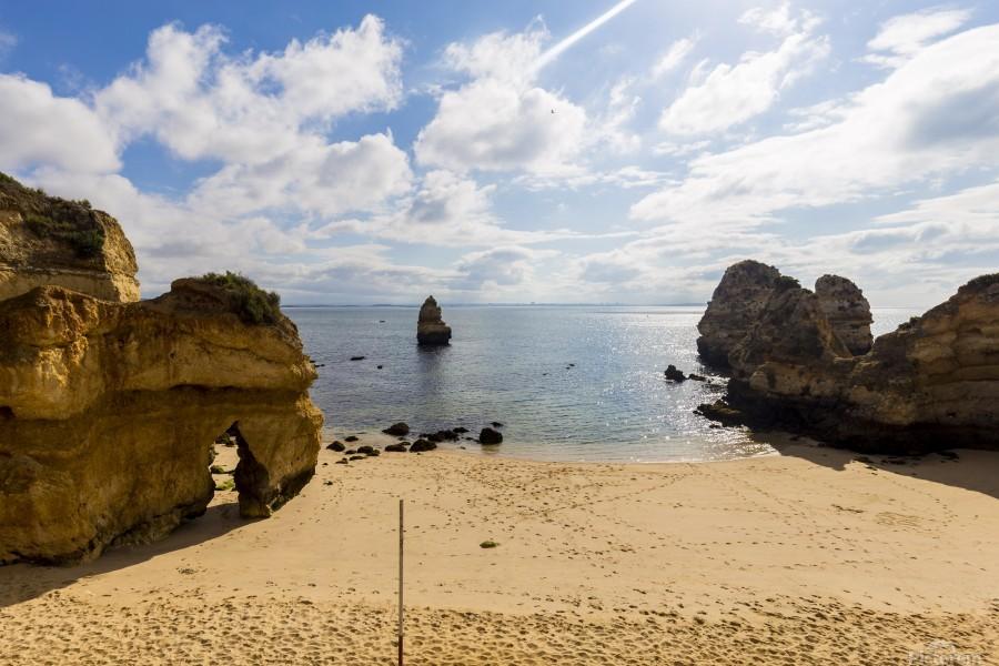 Praia do Camilo  Print