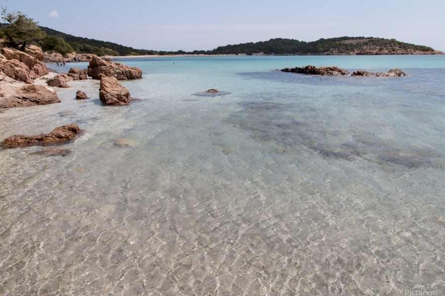 Rondinara beach in Corse  Print