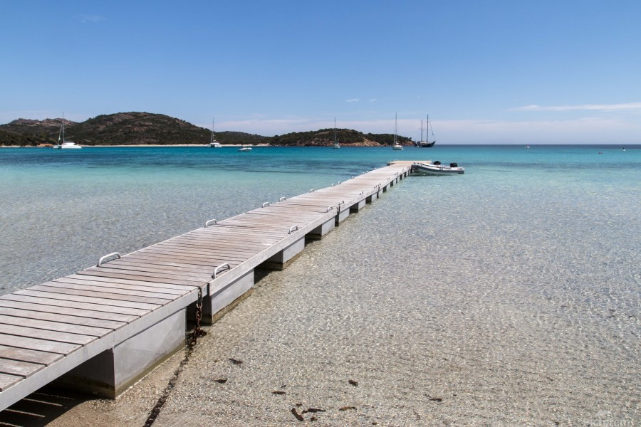 Rondinara beach in Corse  Print