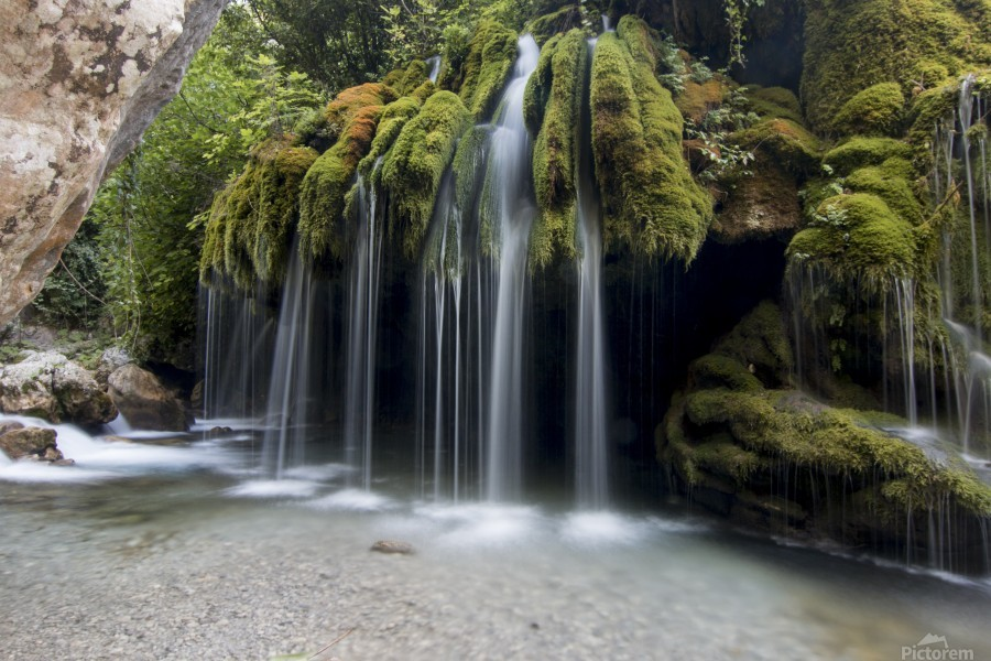 Capelli di Venere waterfalls  Print