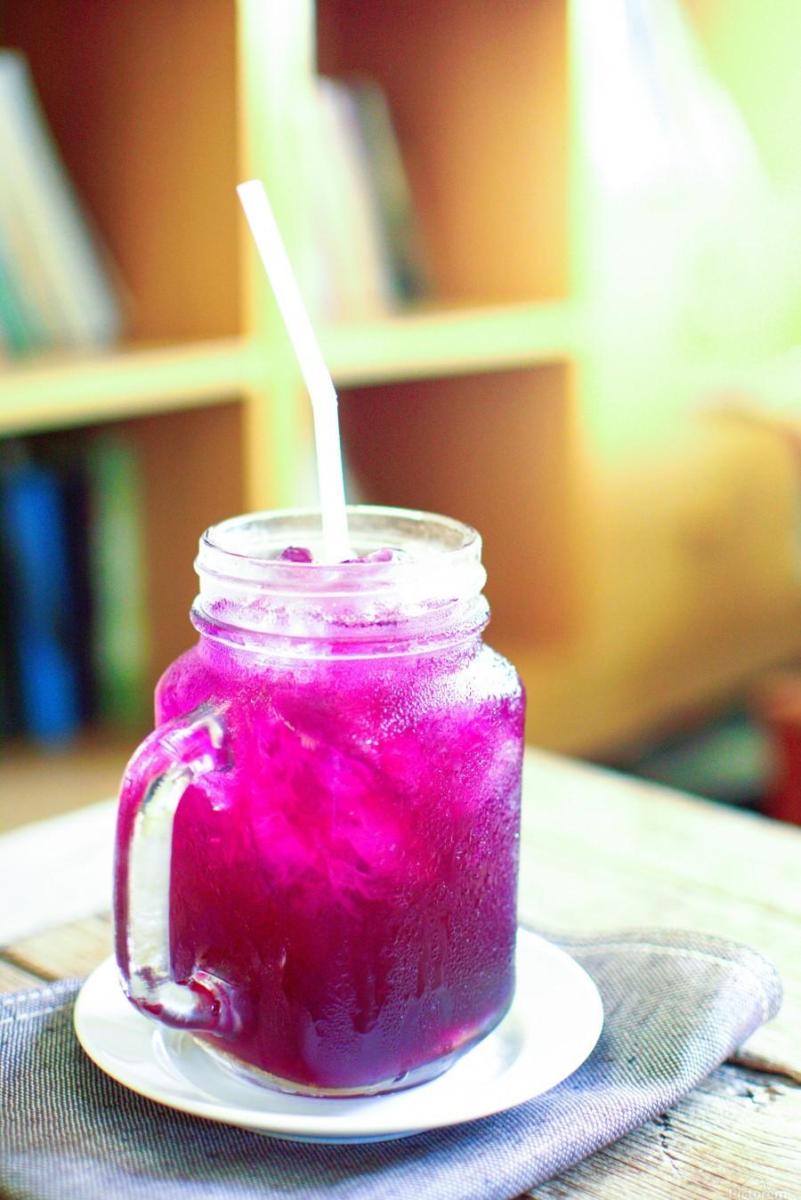 Herb juice.  Print
