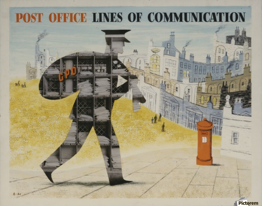 Post Office Lines of Communication  Print