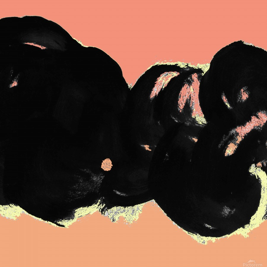 Black Clouds  Print