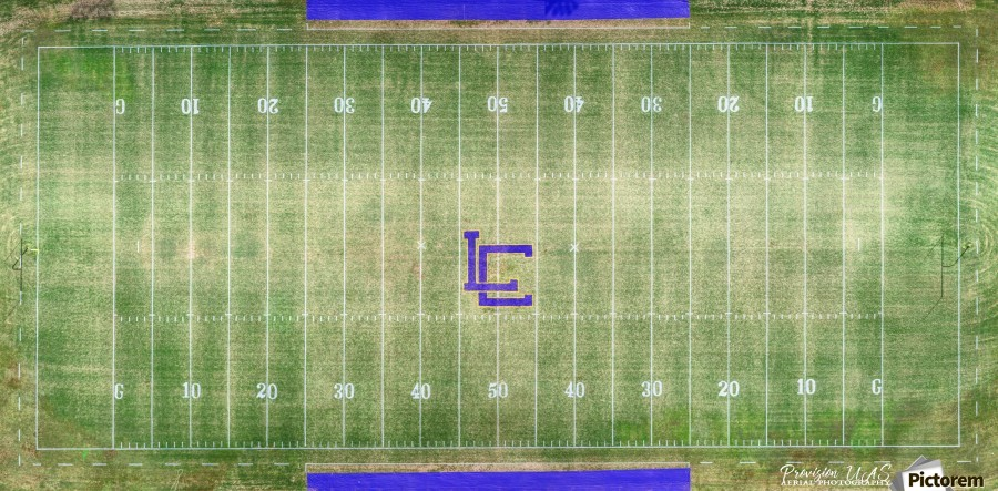 Lawrenceburg, TN | Wildcats Football Field  Print