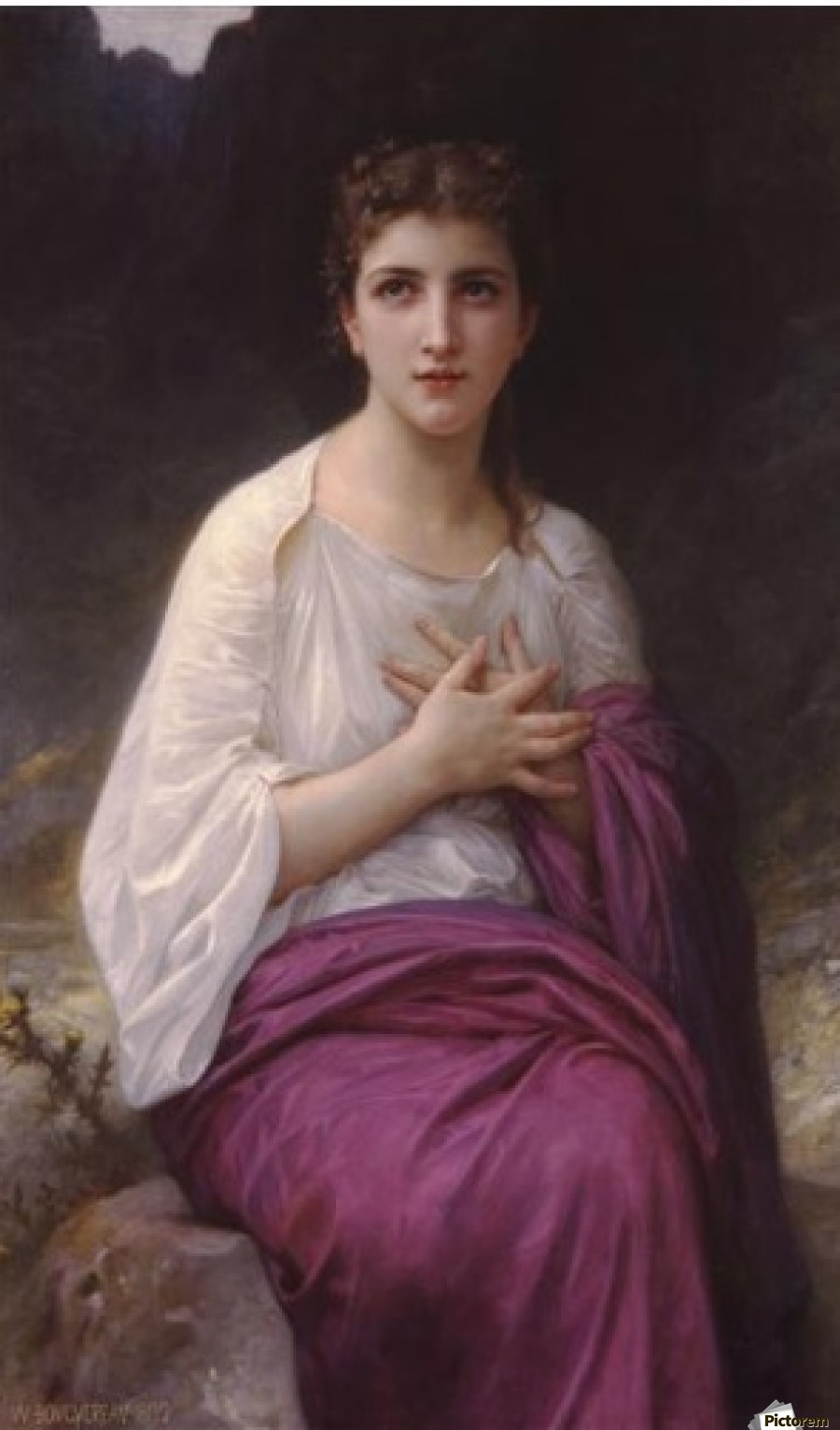 psyche william adolphe bouguereau canvas