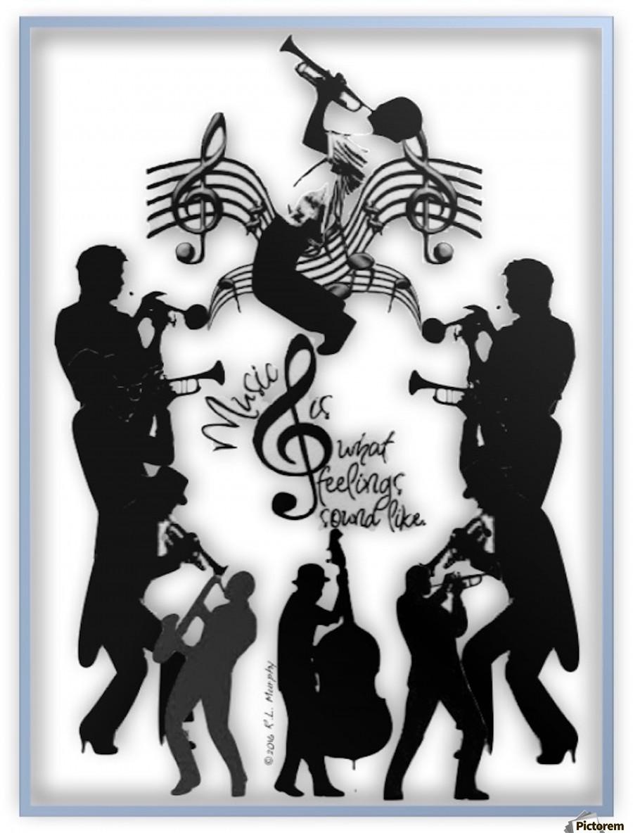 Music Feelings  Print