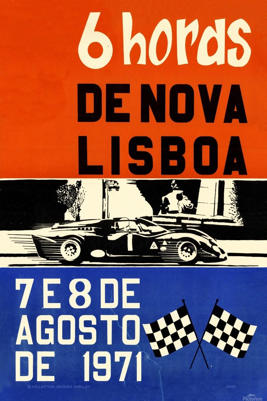 6 Hords De Nova Lisboa Huambo 1971  Print