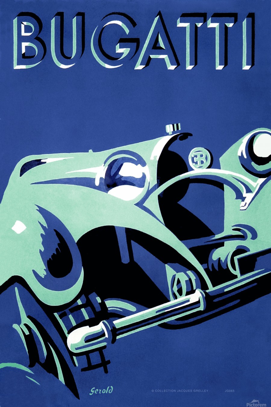 Bugatti Type 50 Super Roadster 1932  Print
