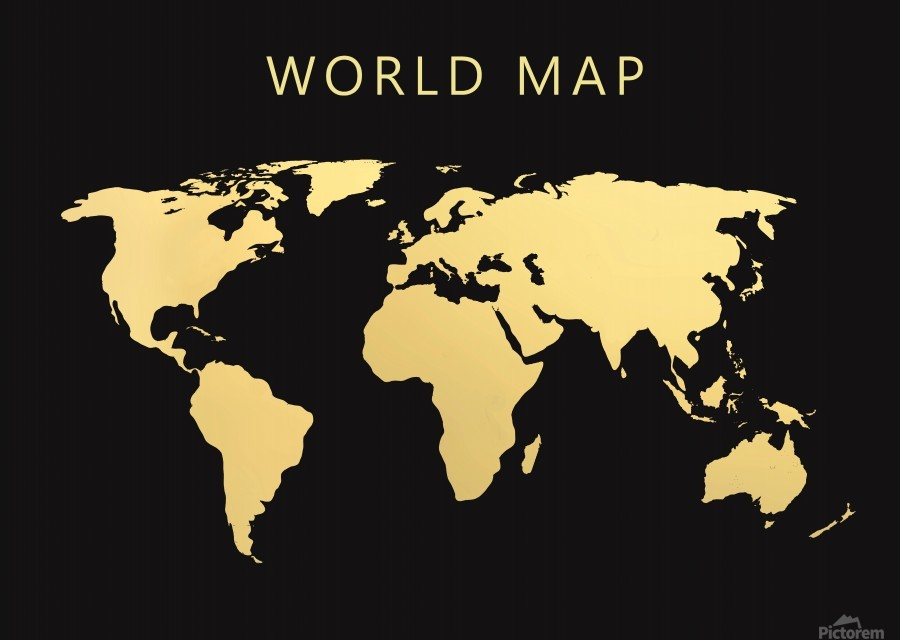 map world 2  Print