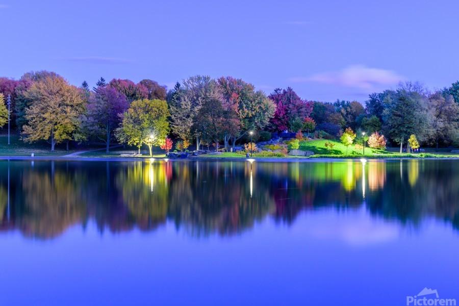 Beaver lake reflection  Print