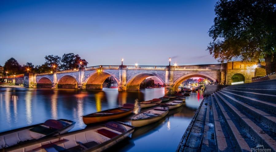 Richmond Bridge London  Print