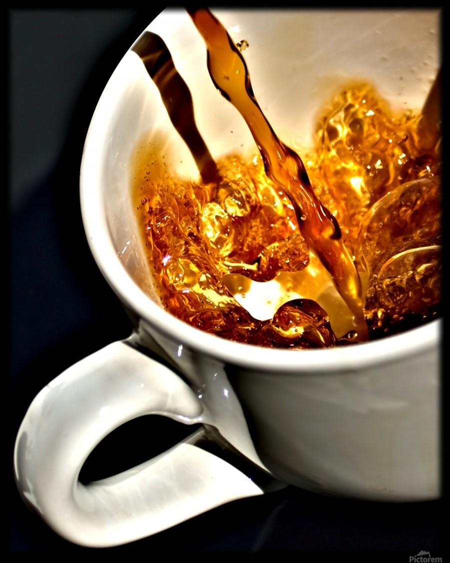 Coffee Pour   Print