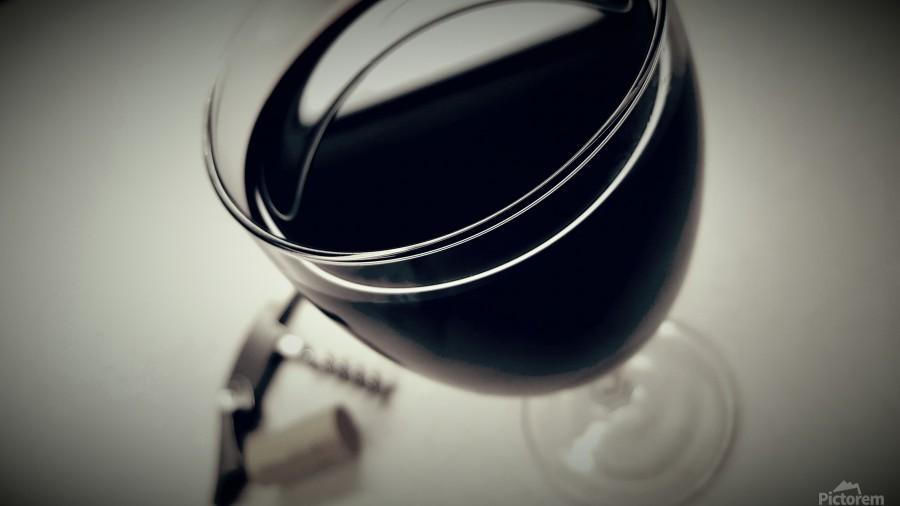 Wine Art 2  Print