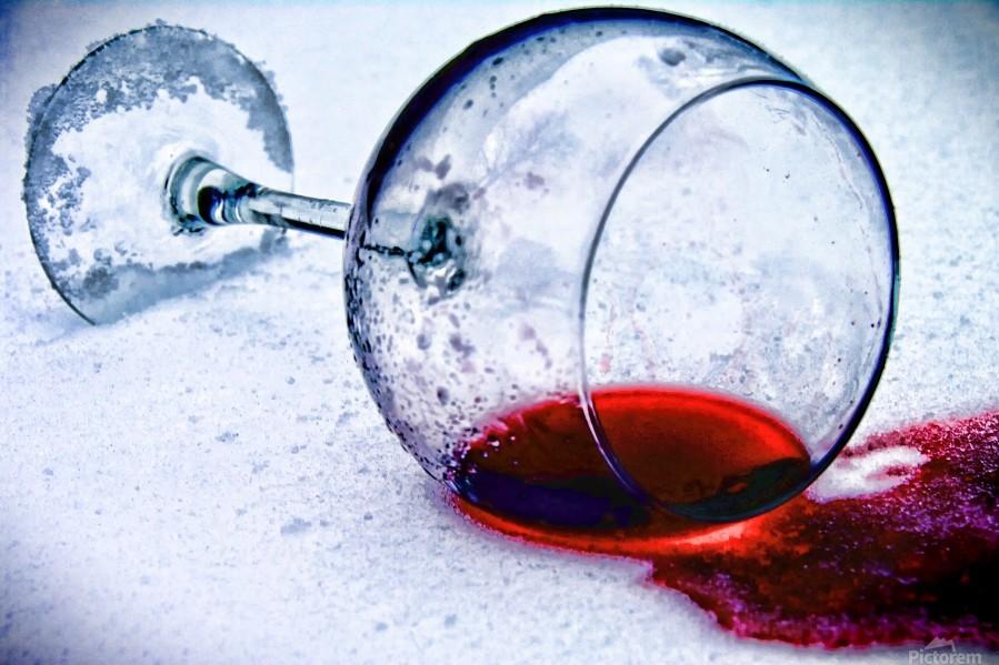 Wine Art 3  Print
