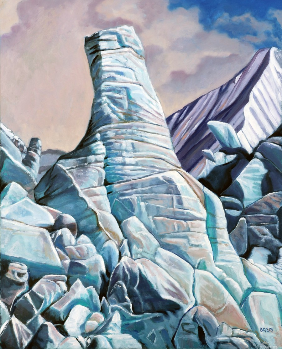 Glacier 3  Print