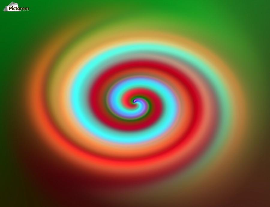 Swirl  Print
