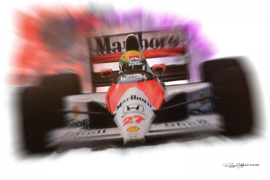 Senna  Print