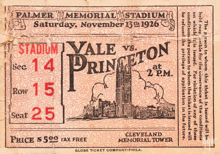 1926 Yale vs. Princeton  Print