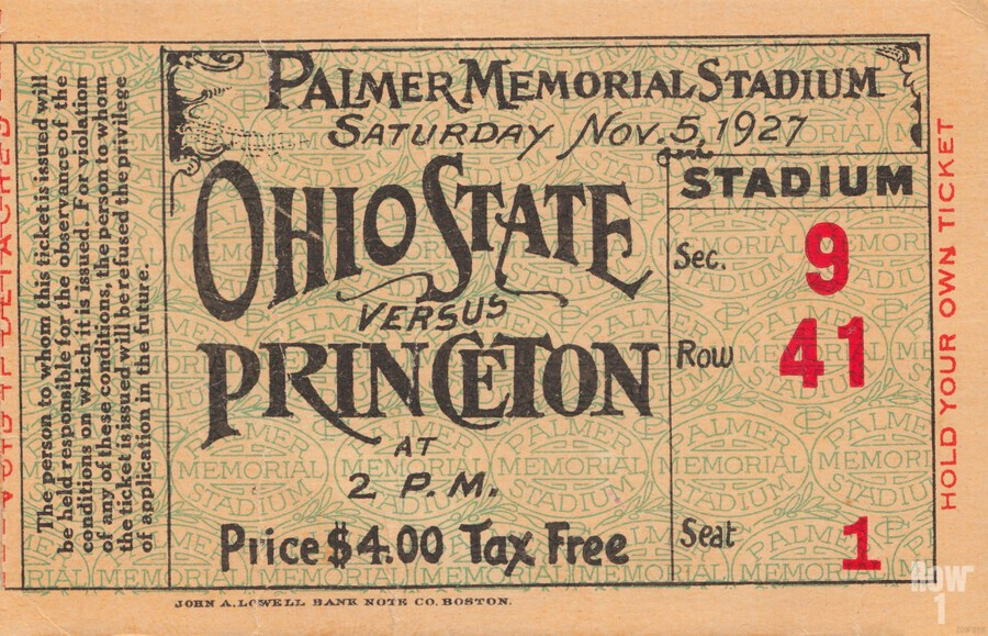 1927 Ohio State vs. Princeton   Print