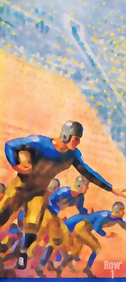 1932 Cal Bears Football Art  Print