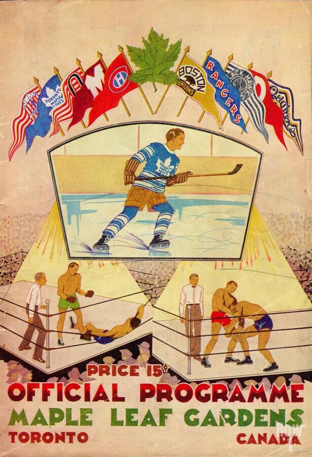 1932 Toronto Maple Leafs Row One Brand