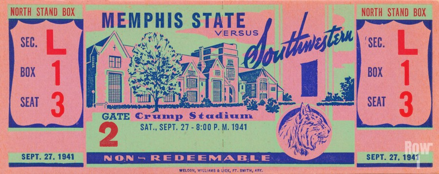 1941 Memphis State  Print