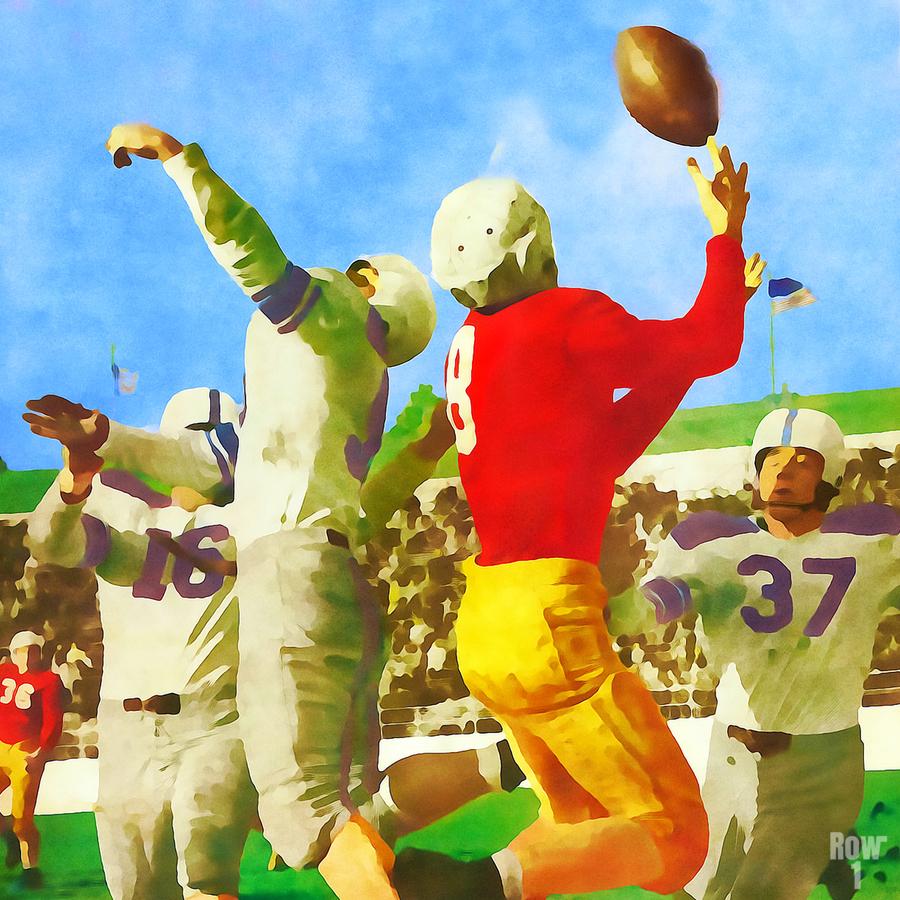 1947 Vintage Football Art Gift Idea  Print
