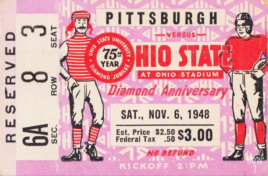 1948 Ohio State vs. Pittsburgh   Print
