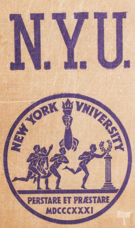 1950s NYU Art  Print