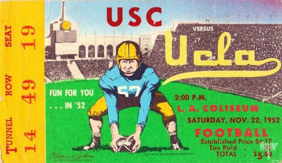 1952 USC vs. UCLA  Print