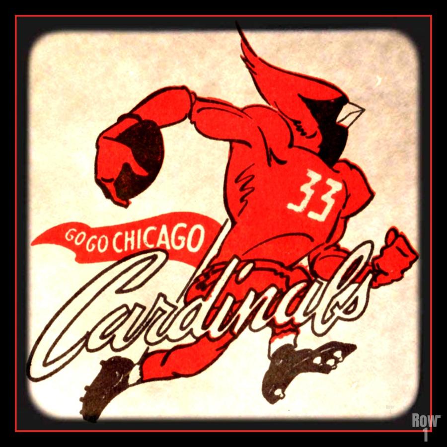 1956 Chicago Cardinals Viewfinder Slide Art  Print