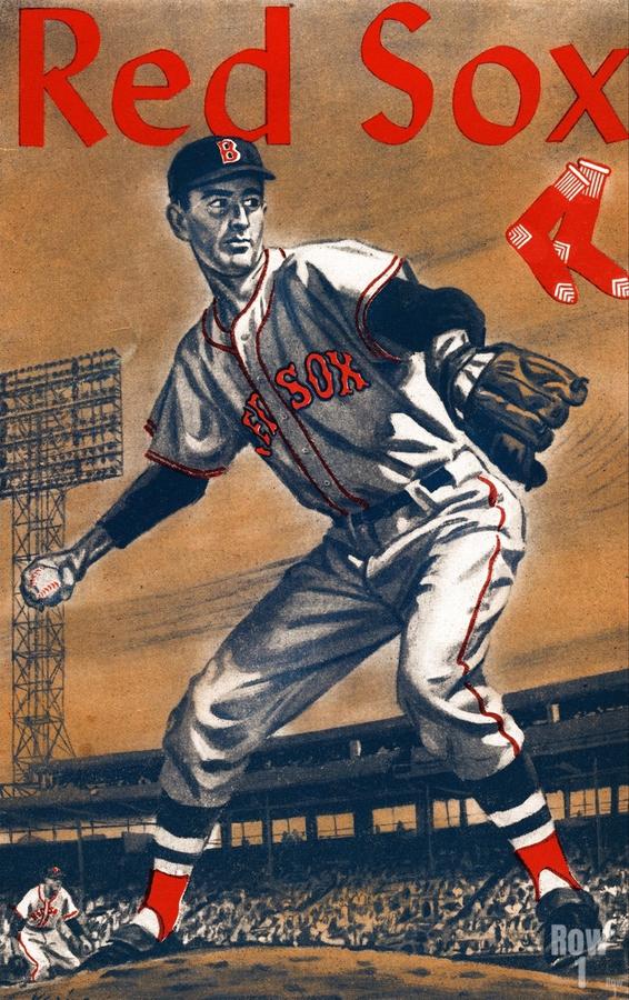 1960 Boston Red Sox Remix Art  Print