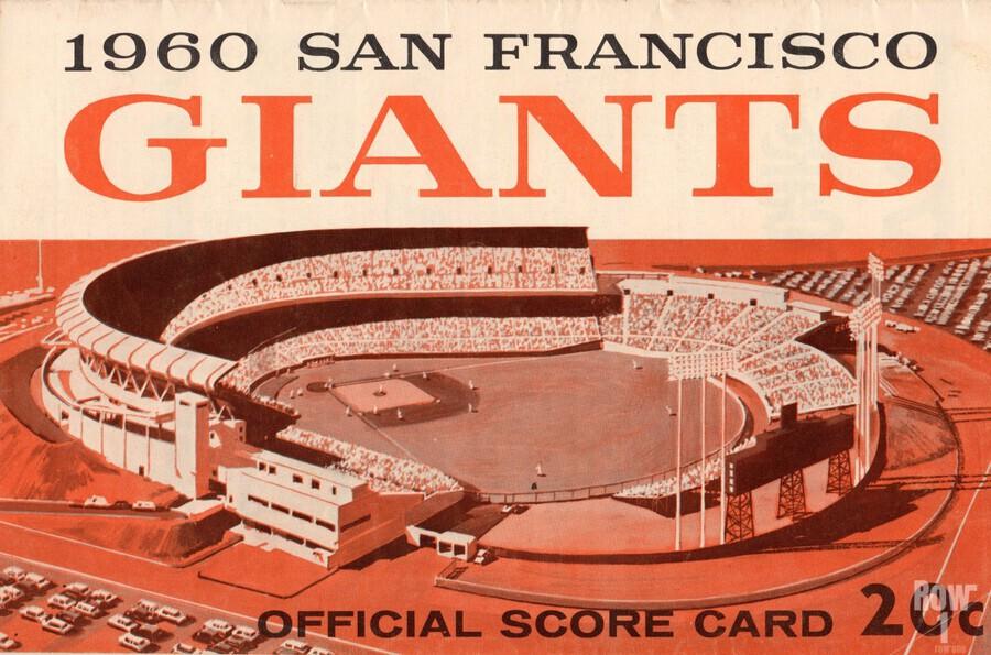 1960 San Francisco Giants  Print