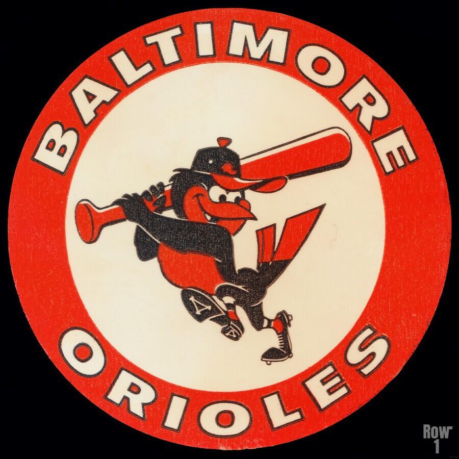 1960s Baltimore Orioles Art  Print