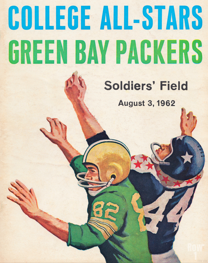1962 Green Bay Packers vs. College All-Stars  Print