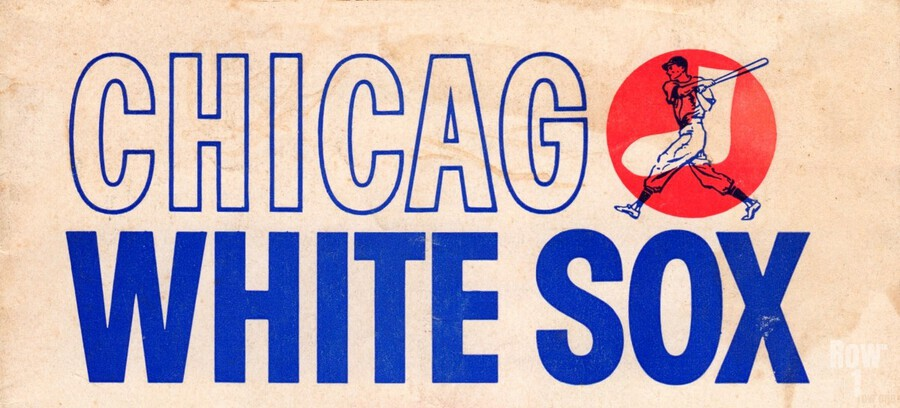 1962 Chicago White Sox Art  Print