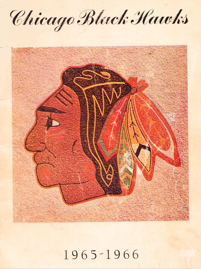 1965 Chicago Black Hawks Art  Print