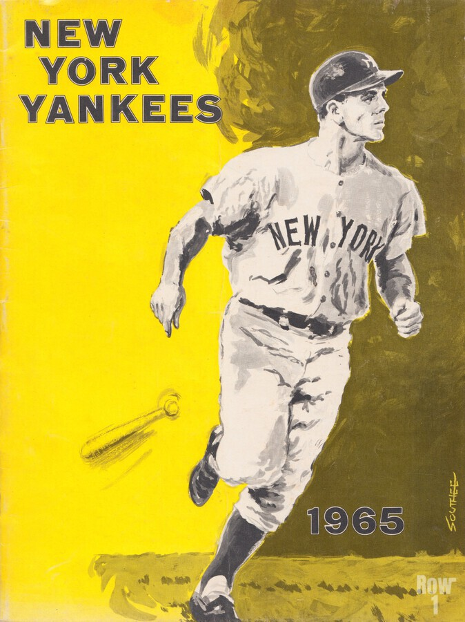 1965 new york yankees poster  Print