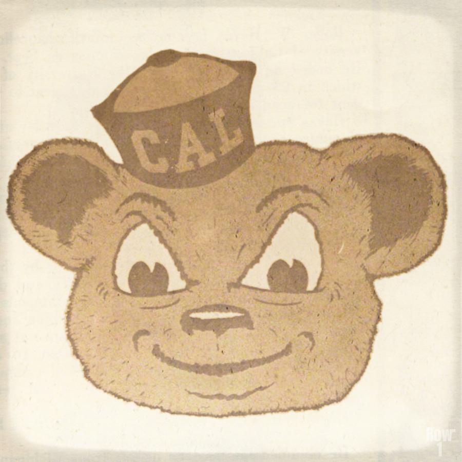 1966 Cal Bear Art | Row 1  Print