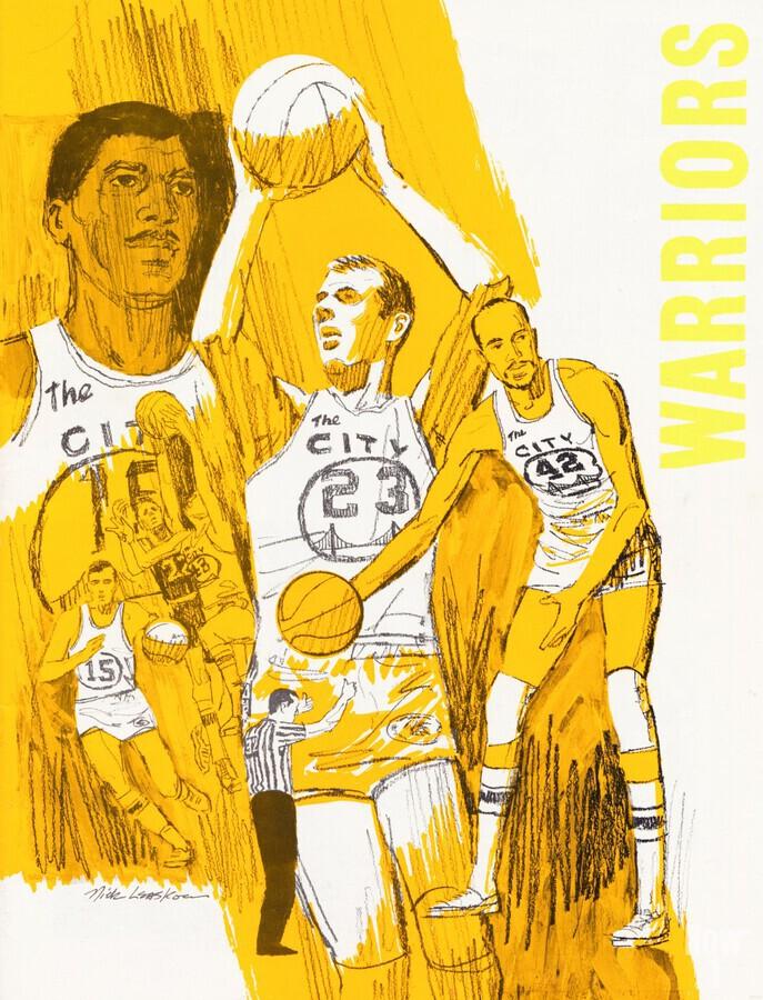 1969 San Francisco Warriors   Print